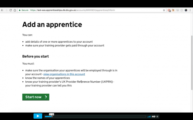 Coming soon to the apprenticeship service: add an apprentice and set up payments