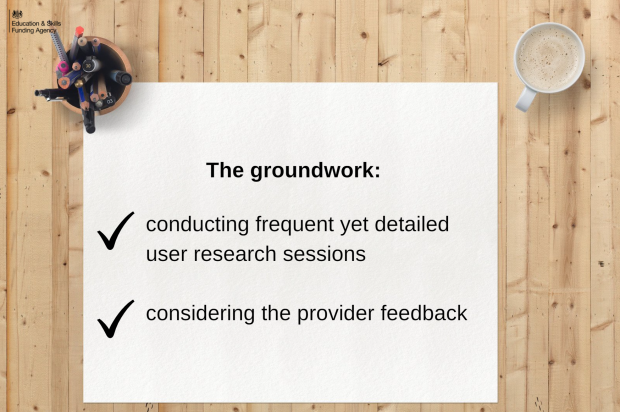 The groundwork was laid by conducting frequent yet detailed user research sessions and considering the provider feedback
